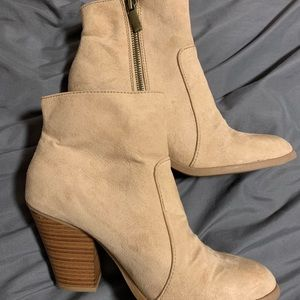 ShoeDazzle booties (brand new)